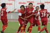 Tuyển nữ Việt Nam mất vé vào chung kết ở phút 89