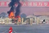 Cháy xe trên quảng trường Thiên An Môn