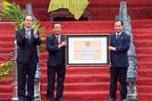 Lam Kinh đón nhận bằng di tích quốc gia đặc biệt