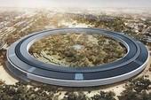 """Hình ảnh mới nhất về trụ sở """"phi thuyền"""" của Apple"""