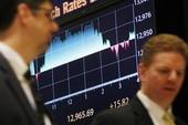 Dow Jones lần đầu tiên vượt ngưỡng 13.000 điểm