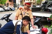 Đã gửi 23 thông báo học sinh vi phạm giao thông về các trường
