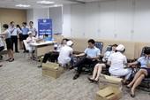 Hiến máu nhân đạo tại Ngân hàng Shinhan Việt Nam