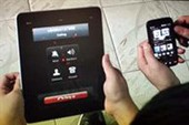iPad biến thành iPhone bằng phần mềm