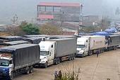 Ùn tắc hàng xuất khẩu tại Lạng Sơn