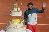 Nadal mừng sinh nhật ngay trên sân sau chiến thắng