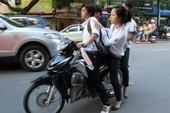 Bí mật ghi hình học sinh vi phạm luật giao thông