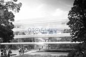 9 hình ảnh bí mật về trụ sở như phi thuyền của Apple