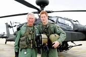 Hoàng tử Harry được thăng đại úy