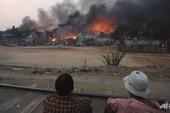 Myanmar lại rung chuyển vì bạo loạn, đốt phá