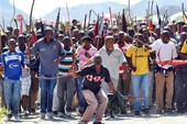 Thợ mỏ Nam Phi biểu tình hàng loạt