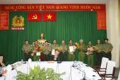 Bộ Công an thưởng nóng vụ triệt phá nhóm khủng bố ở Tân Bình
