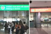 Phân luồng 'cửa xanh', 'cửa đỏ' tại Tân Sơn Nhất