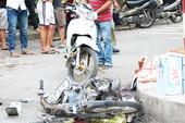 Xe bán tải 'điên' tông liên hoàn, người phụ nữ tử vong