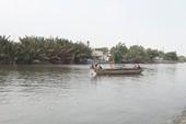 Bơi sông Chợ Đệm hái bần, 1 người mất tích