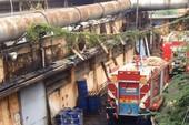 Khống chế nhanh vụ cháy do rò rỉ ống dẫn dầu cấp nhiệt
