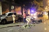 2 người chết, 5 người bị thương vụ tông xe hàng loạt ở quận 1