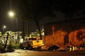 Ô tô tông nhiều xe máy dừng đèn đỏ ở quận 1