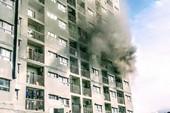 Cháy chung cư I-Home ở Gò Vấp, nhiều cư dân hoảng loạn