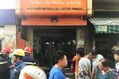 Cháy tiệm tóc chợ Nguyễn Thiện Thuật, tiểu thương hoảng loạn