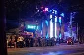 Giang hồ hỗn chiến ở quán bar vùng ven, nhiều người bị thương