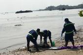 Thi thể nam thanh niên nổi lập lờ trên sông Đồng Nai