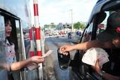 Xử lý nghiêm hành vi gây rối tại các trạm thu phí