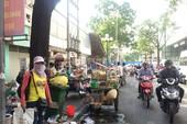 Vỉa hè trung tâm quận 1 bát nháo trở lại