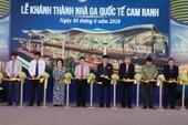 Khánh thành nhà ga quốc tế sân bay Cam Ranh