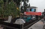 Siêu máy bơm ở đường Nguyễn Hữu Cảnh tạm ngừng hoạt động