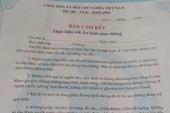 Bắt học sinh lớp 1 ký văn bản cam kết giao thông