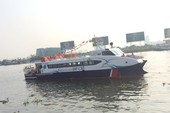 Tàu cao tốc hiện đại bậc nhất Việt Nam đi vào hoạt động