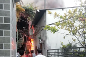 Clip: Lời kể nhân chứng trong vụ cháy ở quận Bình Thạnh