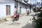 Nhiều nắp cống hư hỏng gây nguy hiểm ở quận Bình Tân