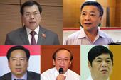 Các cựu quan chức bị cách, xóa các chức vụ đã từng có