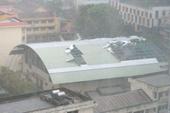 Mưa bão đang càn quét Nha Trang
