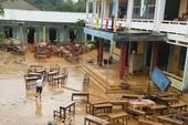 3 trường học ngập bùn vùng rốn lũ Quế Ninh