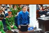 Không khí ngày thứ hai phiên tòa xử ông Đinh La Thăng