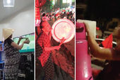 Những kiểu ăn mừng 'bá đạo' của CĐV Việt Nam