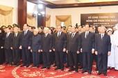 Nhiều đoàn lãnh đạo đến viếng nguyên TT Phan Văn Khải