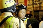 Nhiều tài xế vượt nồng độ cồn cho phép bị xử lý ở Hàng Xanh