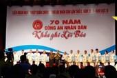 Hơn 500 diễn viên tham gia ngày hội Công an nhân dân