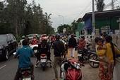 2 vợ chồng bị dân Phan Thiết vây giữ vì nghi bắt cóc bé trai