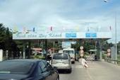 Trạm BOT Phú Hài dừng hoạt động trước thời hạn