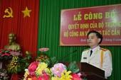 Cục phó Cảnh sát hình sự làm giám đốc Công an Bình Thuận