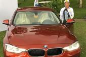 Cú golf 'thần thánh' mang đến ô tô BMW