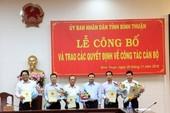Ông Võ Thanh Bình làm Chánh văn phòng UBND tỉnh Bình Thuận