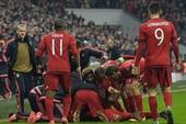 Bayern ngược dòng không tưởng loại Juventus, Barca thắng dễ Arsenal