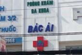 Phòng khám Bác Ái bị đề nghị phạt 188 triệu đồng