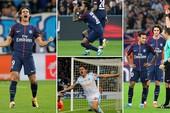 Neymar bị thẻ đỏ,Cavani sắm vai người hùng giải cứu PSG